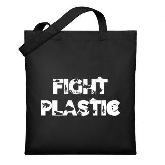 Fight Plastic Hoodie - Organic Cottonbag-16